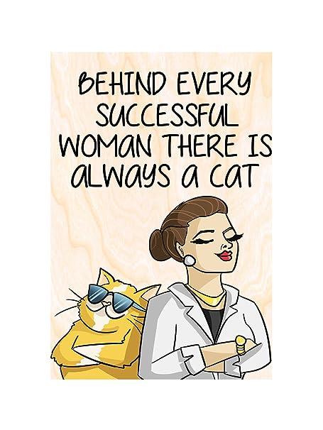 Funny little regalo para un amante del gato. Imanes para nevera ...