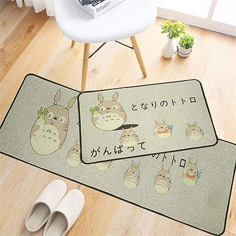 amazon com fruit dog flamingo cat cartoon print kitchen rug flooramazon com fruit dog flamingo cat cartoon print kitchen rug floor door mat kitchen carpet washable absorb long hallway doormat for entrance 51 40x60cm