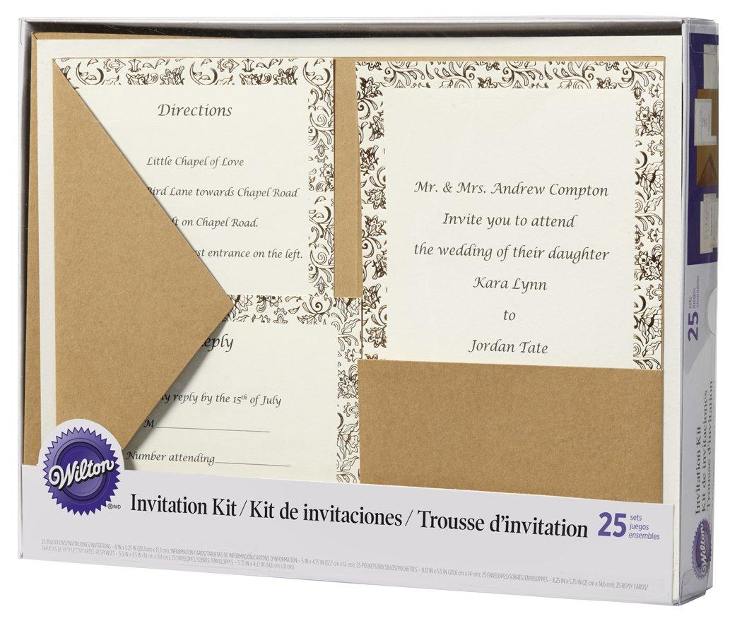 Amazon.com: Invitation Kit Makes 25-Kraft: Home & Kitchen