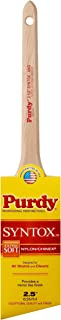 product image for Purdy 144403625 Syntox Paint Brush, 2-1/2 in Width, Angular Dupont Chinex and Nylon Blend, 2.5 inch