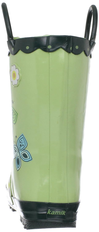 Kamik Butterfly EK6354, Unisex - Kinder Gummistiefel Grün (grn) (31)