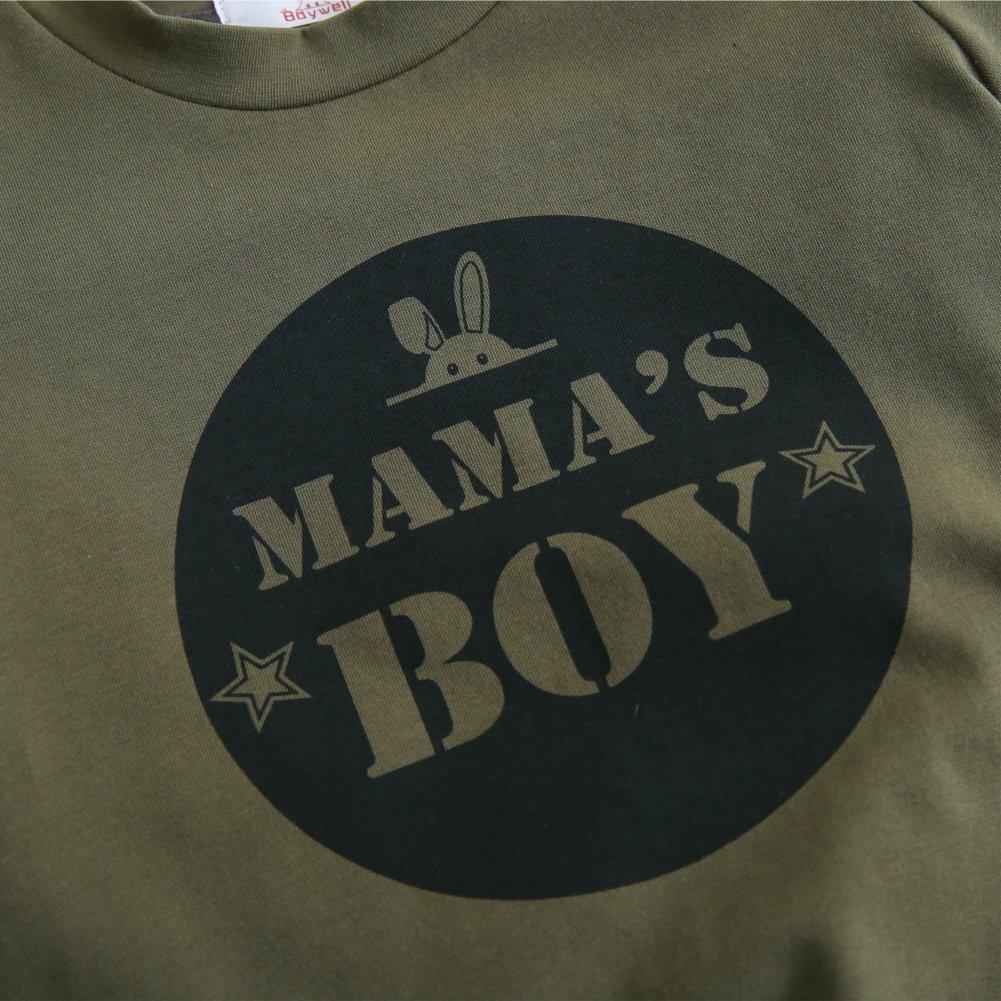 Shiningup Baby-Pyjama-Set Boy Girl Camouflage Kleidung Set Mamas Boy Mama M/ädchen Mode Outfit f/ür 6 Monate bis 4 Jahre alt