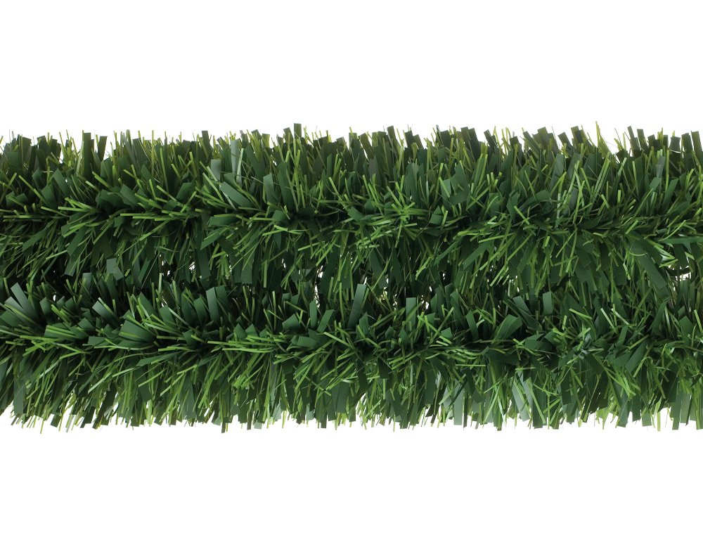 Mega Chunky Pine Green Tinsel Garland for Christmas Decoration - 3m Crafty Capers
