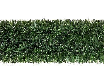 Mega chunky pine green tinsel garland for christmas decoration