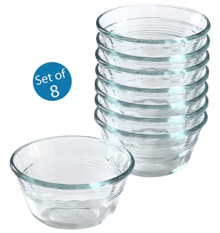 Pyrex 6-Ounce Custard Cups, Set of 8