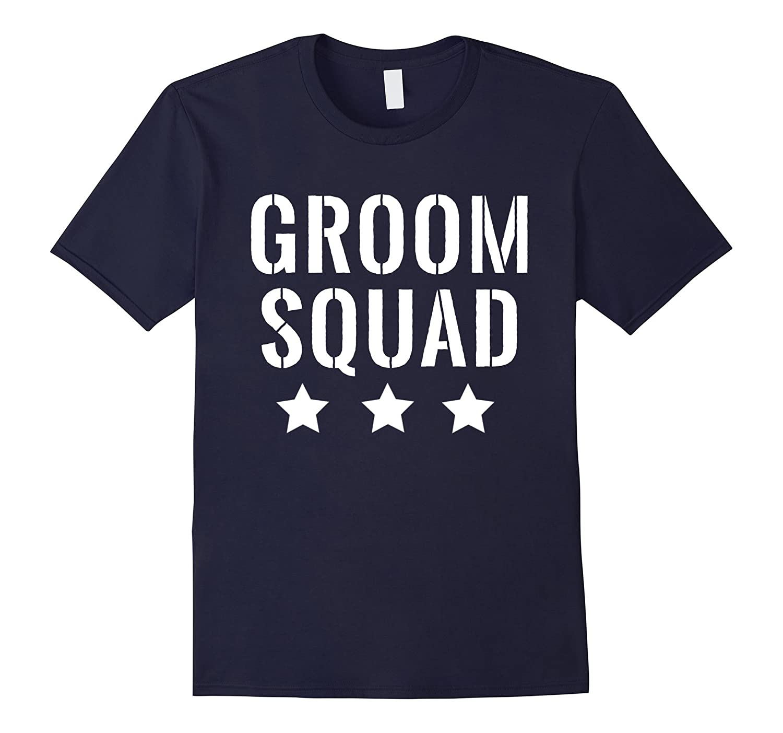 Mens Bachelor Party Shirt Groom Squad Stars Mens Shirt-Vaci