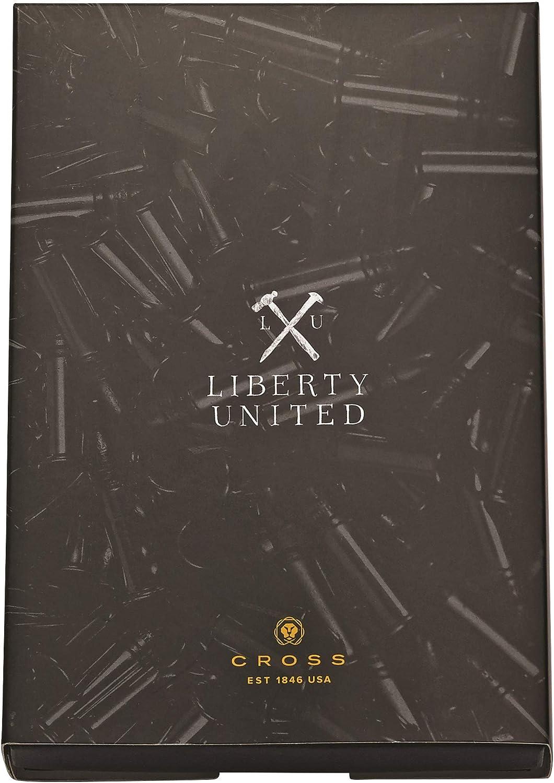 Cross At0725 9//1/x Gunmetal Liberty United Pen avec porte-cl/és Ensemble cadeau/ /Gris