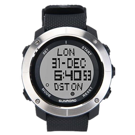 Reloj Deportivo al Aire Libre Digital para Hombres/Reloj Deportivo a Prueba de Agua para Correr Natación/cronómetro de Express Panda®: Amazon.es: Relojes