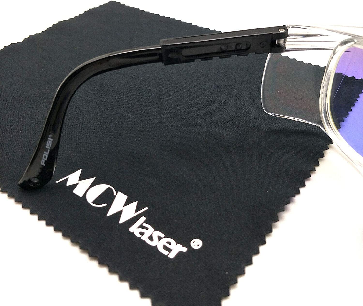MCWlaser CO2 Laser Safty Protective Goggles Glasses 10600nm 10.6um Reflective Type CO2 Laser Eyewear For CO2 Laser Engraving Cuttinge Beauty Treatment Instrument EP-25