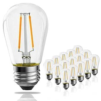 15Led De Filament Banordlot Kblanc 2 S14 Ampoules W2700 À 1TuJ3lKcF