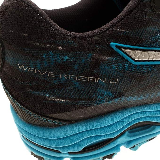 Mizuno Wave Kazan 2 (W) Zapatillas, Mujer, Celeste, 38.5: Amazon.es: Deportes y aire libre