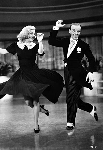 Fred Astaire Ginger Rogers Poster 13x19