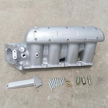 Turbo Turbocompresor para Ford Focus 2.3L 03 - 07 Turbo colector de admisión de aluminio ingesta de colector colectores Plenum cámara aluminio: Amazon.es: ...