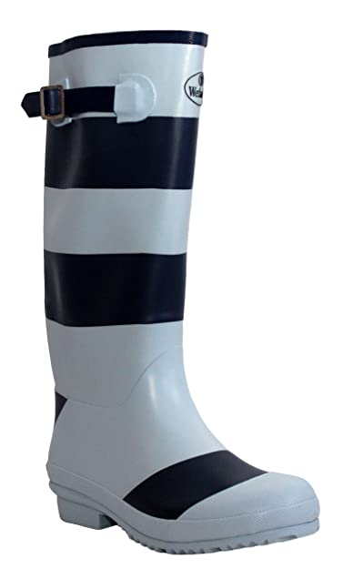 Womens Ladies Wetlands Adjustable Calf Snow Rain Mud Festival Waterproof Wellington  Boots Wellies Sizes UK 5