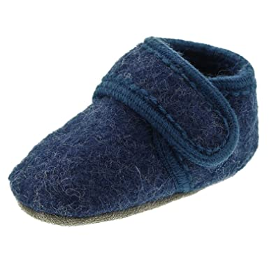 23cf7315b207 CeLaVi Wool Soft Shoe - Blue Melange