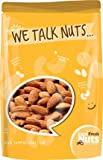 Whole, Shelled & Raw California Almonds by Farm Fresh Nuts | 1 LB Bag of Healthy Tastiness | Unsalted & Handpicked for…