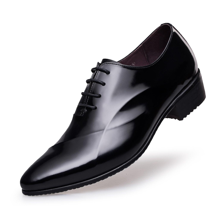 ZRO - Zapatos de vestir para hombre con encaje formal, moderno, Oxford