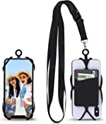 Gear Beast Universal Crossbody Pocket Cell Phone Lanyard Compatible with iPhone,