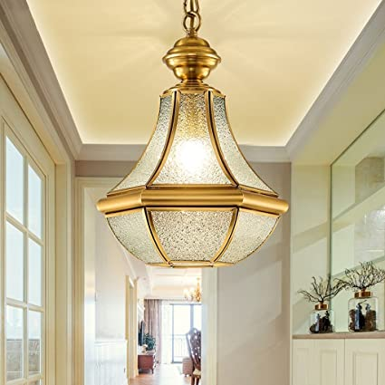 amazon com dididd ceiling chandelier full copper european