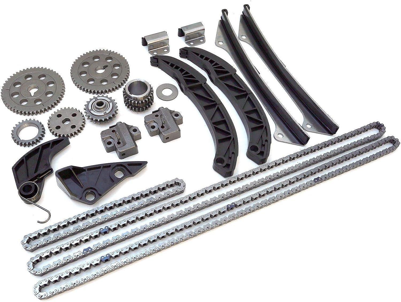 Timing Chain Kit Fit HYUNDAI Sonata Santa Fe Azera 3.3L 3.5L,KIA Sorento Amanti 3.8L 3.3L ENGINE:G6DA G6DB G6DC 2006-12