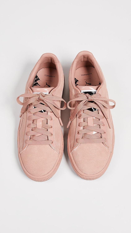 PUMA Women's x MAC ONE Classic Sneakers B07B4JWHD8 7 B(M) US Muted Clay/Muted Clay