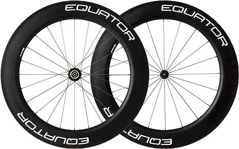 Equator - Juego de ruedas de carbono para bicicleta de carreras ...