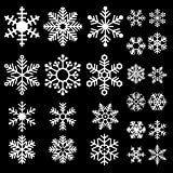 Amazon Price History for:DECORA 48 Pieces Snowflake Glass Cling Window Film Sticker Static Decal for Holiday and Winter Wonderland Themed Birthday Decoration