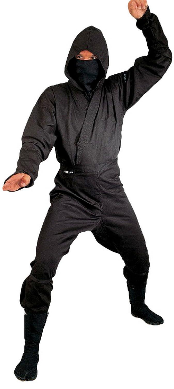 Kwon traje de Ninja, colour negro, varios tamaños: Amazon.es ...