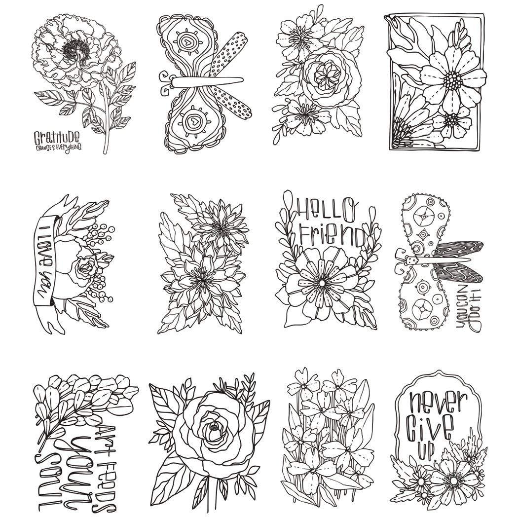 Home SS-UST-MX509 U.S Toy 4SGM Childrens Decorative Rubber Stamps StealStreet