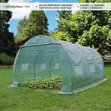 Serre de jardin | Tunnel serre de jardin | Serre de jardin tunnel ...