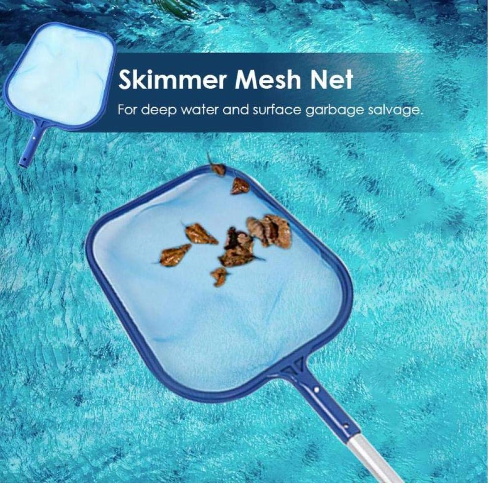 Pool Leaf Skimmer Fishing Net Cleaning Tools Portable Cleaning Net Swimming Pool