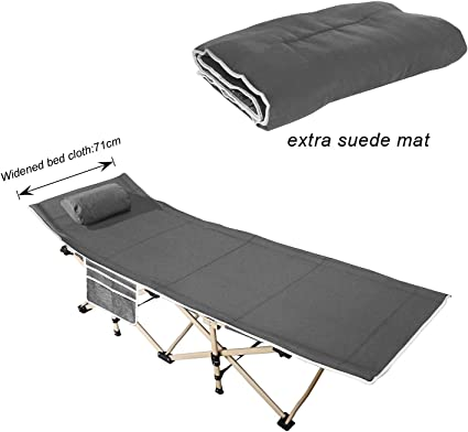 Teton Sports Outfitter Xxl Camp Cot Folding Cot Great For Car Camping Aseabra Pt