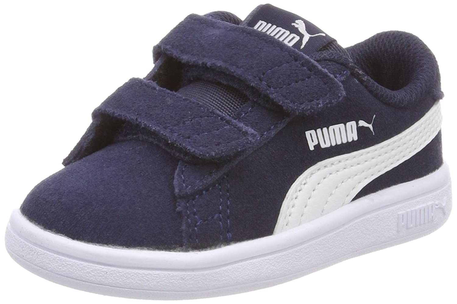Puma Smash V2 SD V Inf, Sneakers Basses Mixte bébé