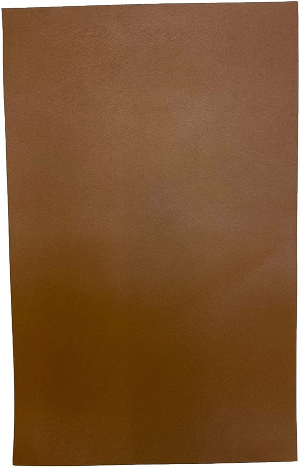 Italian Calf Cow Leather Tan 7.5 x 12 Pre-Cut Leather Pieces