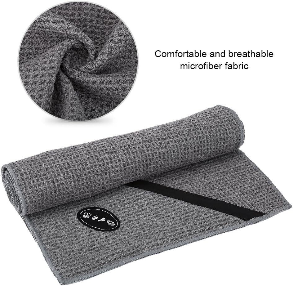 Toalla de fitness toalla de microfibra Sports multifunci/ón con bolsillo con cierre de cremallera para Yoga Running Gym entrenamiento viajes