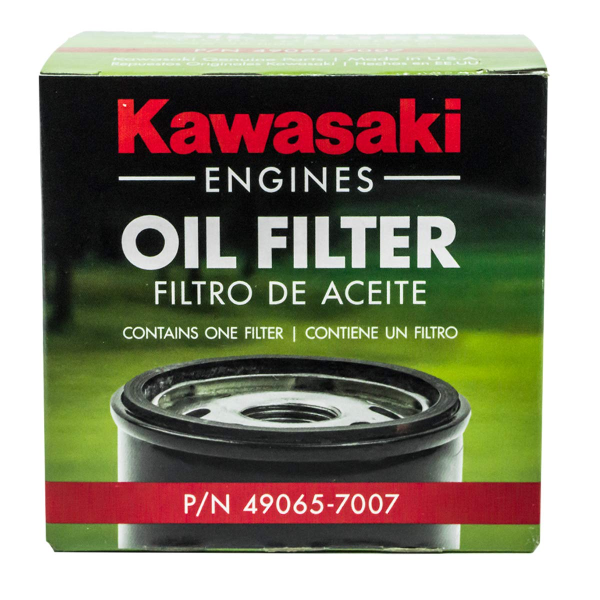 Amazon.com: 6 filtros originales originales Kawasaki 10W40 ...