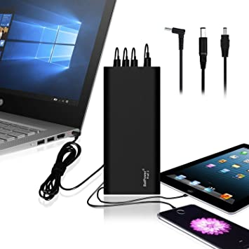 BatPower EX10H 148Wh Power Bank Cargador portátil Batería Externa para HP Pavilion Envy Spectre Split Slatebook Chromebook Streambook EliteBook ...