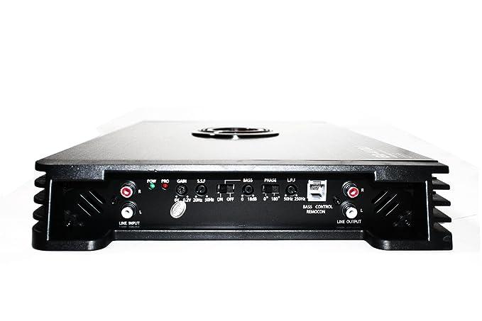Amazon.com: GRAVITY GPOWER GR4100.1 4100W MAX 1 OHM STABLE CLASS D MONOBLOCK CAR AUDIO AMPLIFIER: Car Electronics