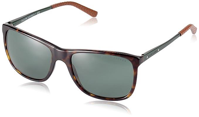 Ralph Lauren Herren Sonnenbrille » RL8133Q«, schwarz, 500171 - schwarz/grün