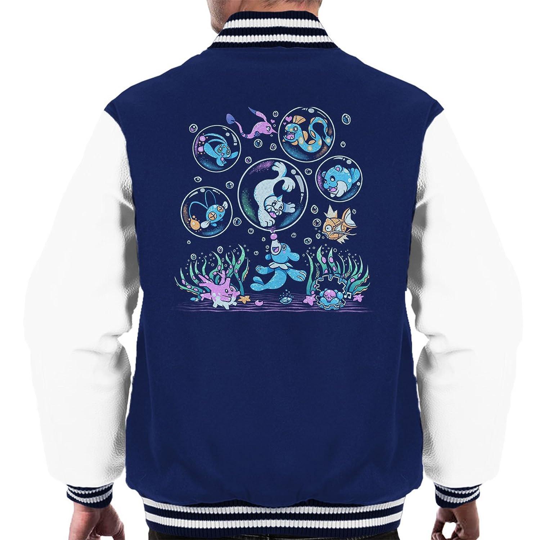 Pokemon Popplio Bubble Popp Men's Varsity Jacket