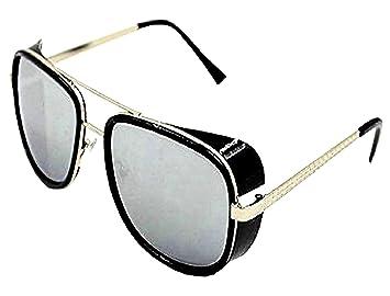 montura plata - lente transparente)  gafas de sol iron man ...