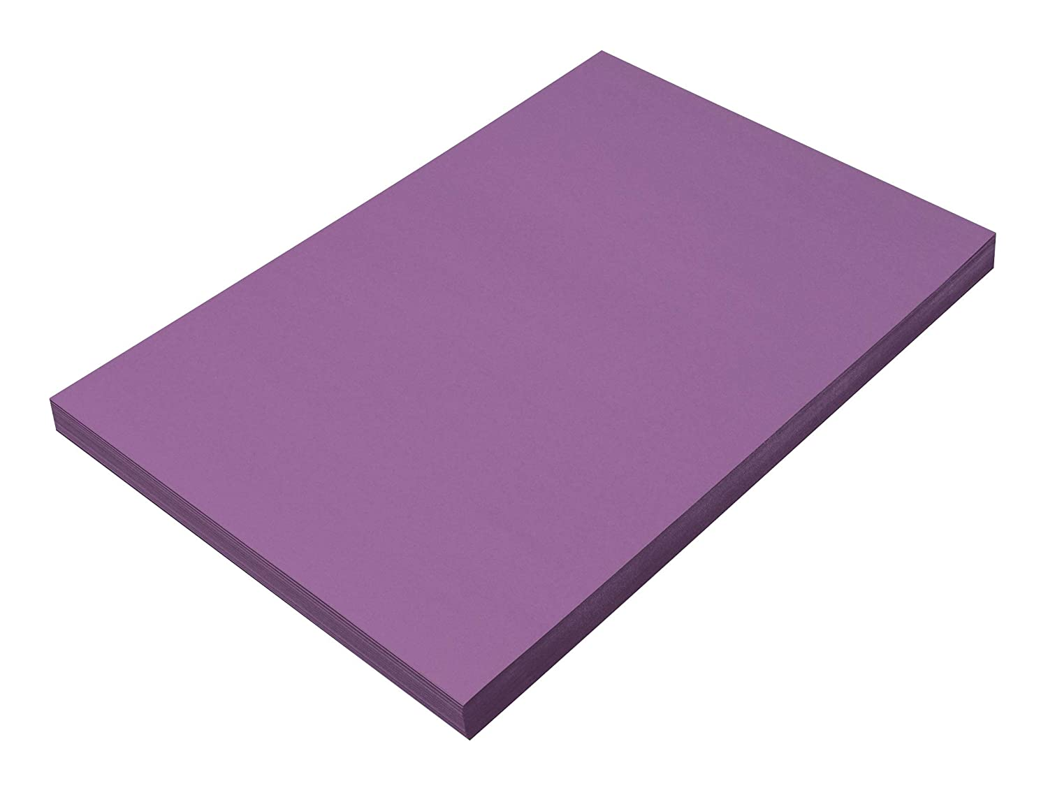 100 Sheets SunWorks Construction Paper 12 x 18 Red