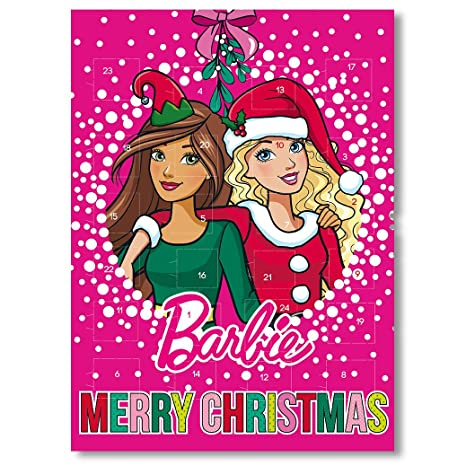 barbie adventskalender schokolade