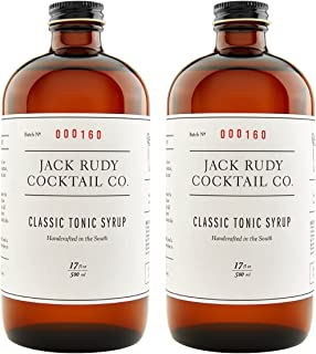 product image for Jack Rudy Classic Tonic Syrup 17 oz (2-pack)