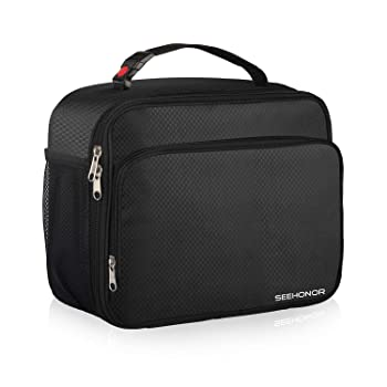 Seehonor portable and handy lunch box for men