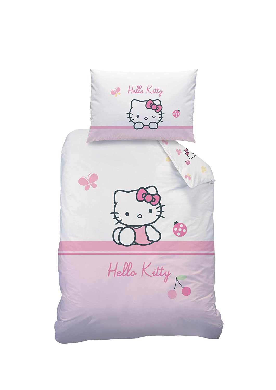 Hello Kitty Baby-Bettwäsche 100 x 135 + 40 x 60 cm