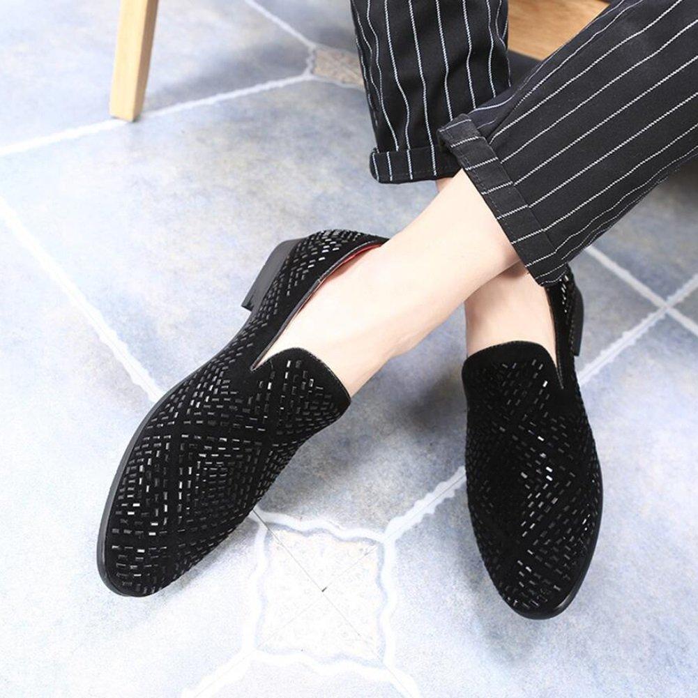 XUE Herren Leder Leder Leder Schuh Frühjahr Sommer Loafers & Slip-Ons Fahr Schuhe Lazy Schuh Casual Breathable Komfort Formale Business Work Party & Abend  37636d