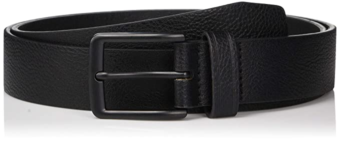 437c00996fed Perry Ellis Men's Portfolio Nickel Buckle Casual Belt: Amazon.co.uk ...