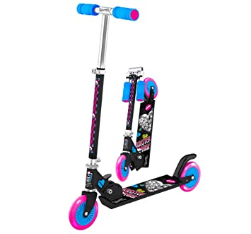 Color Baby Scooter aluminio plegable - Monster High