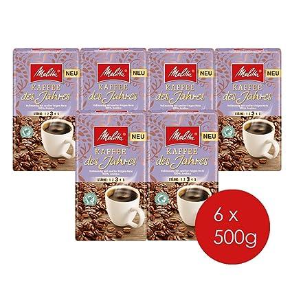 ce35c2fe68 Melitta Gemahlener Röstkaffee, Filterkaffee, 100% Arabica, vollmundig mit  sanfter Feigen-Note